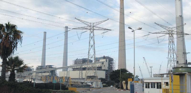 תחנת הכח רבין / צילום: יוסי וייס, חברת החשמל