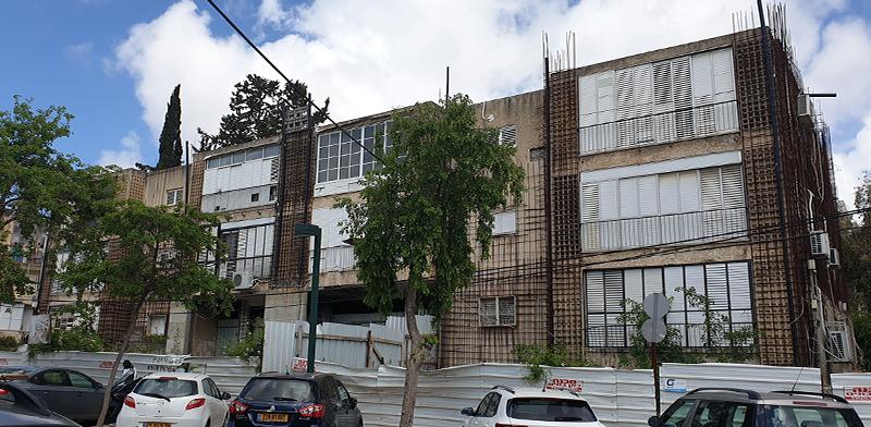 """הבניין ברחוב כ""""ג. השופטת קבעה כי חובות אישיים אינם נימוק רלוונטי / צילום: גיא ליברמן, גלובס"""