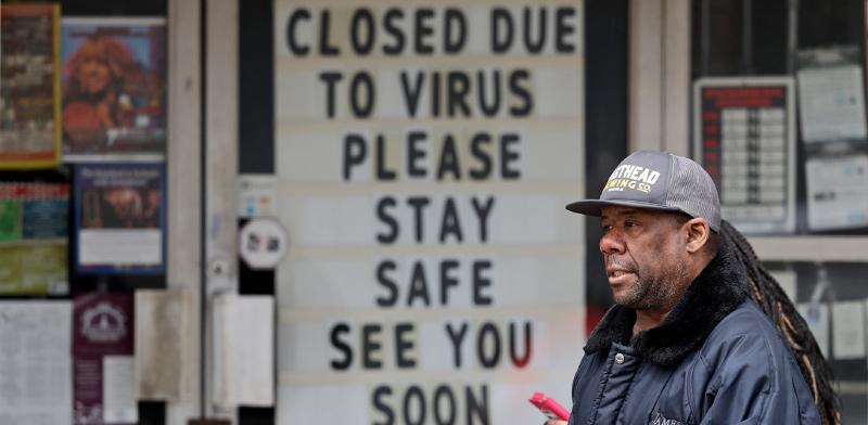 עסקים רבים בעולם נסגרו, ועדיין לא ברור מה יעלה בגורלם / צילום: Tony Dejak, Associated Press