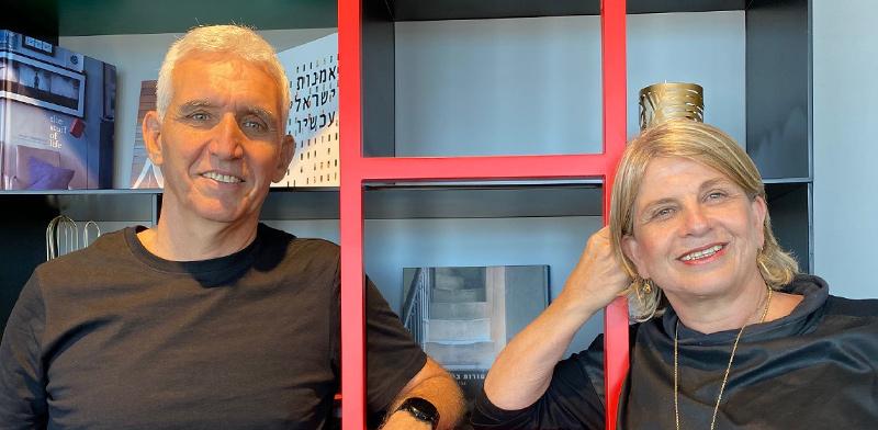 Varda Shalev and Amnon Bar Lev  / Photo: ALIKE