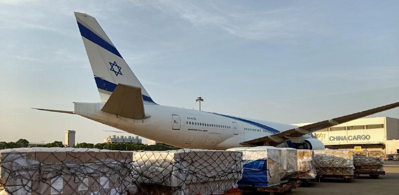 """טיסת מטען של אל על  / צילום: יח""""צ"""