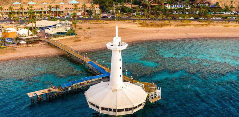 המצפה התת-ימי באילת / צילום: אביעד שמואל