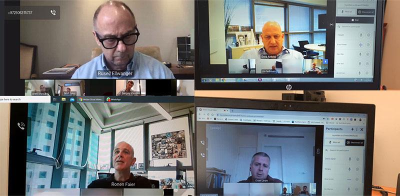 הכנס השנתי ה-22 של אופנהיימר ישראל בפורמט וירטואלי בצל הקורונה / צילום: צילומי מסך מתוך הכנס