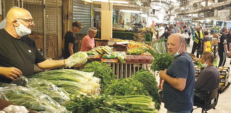 שוק פתח תקווה / צילום: גיא ליברמן, גלובס