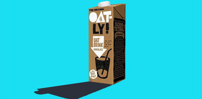 משקה שיבולת השועל השבדי Oatly  / צילום: Oatly