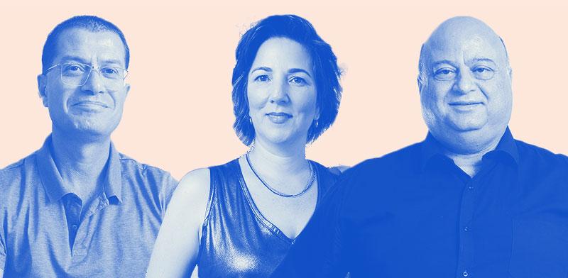 """בעלי עסקים שהשתתפו במיזם """"עסק ישראלי"""" של """"גלובס""""  / עיצוב: טלי בוגדנובסקי , גלובס"""