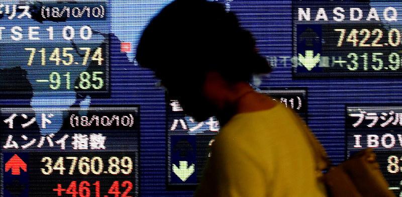 תצוגה של מדדי שווקים בטוקיו, יפן / צילום: KIM KYUNG-HOON  , רויטרס