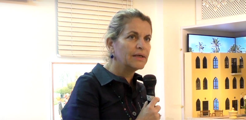 אמירה אורון, שגרירת ישראל / צילום: מתוך יוטיוב