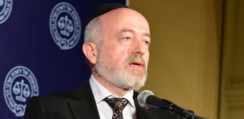 """הרב עו""""ד שמעון יעקבי, היועץ המשפטי של בתי הדין הרבניים / צילום: תמר מצפי, גלובס"""