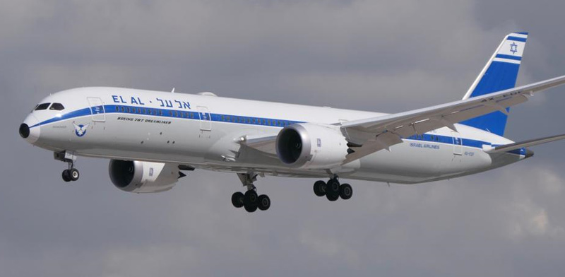 El Al plane  / Photo: Yoav Yaari