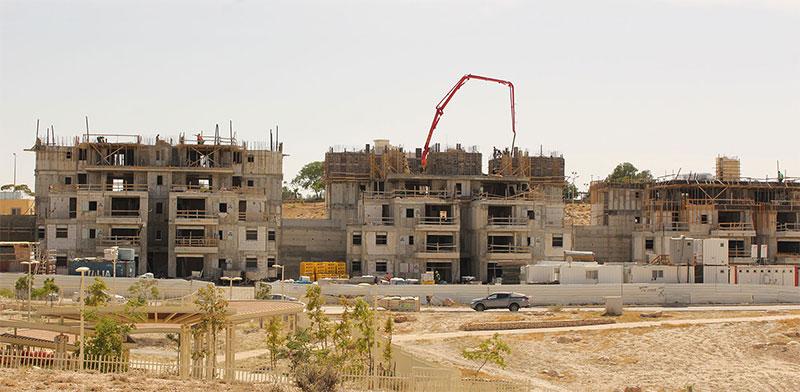 בנייה בערד / צילום: גיא ליברמן, גלובס