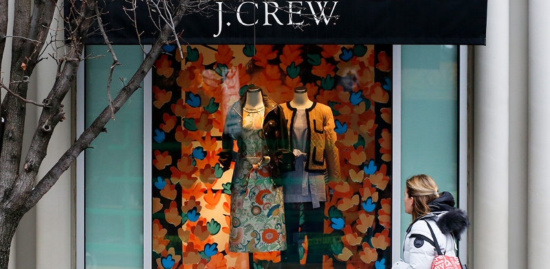 חנות רשת J.Crew. כעת, כשהיא בחדלות פירעון, ההפסד לבעלי החוב הוותיקים גבוה יותר / צילום: Gene J. Puskar, Associated Press