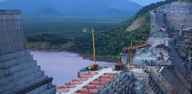 בניית הסכר באתיופיה, אוקטובר 2019   / צילום: Tiksa Negeri, רויטרס
