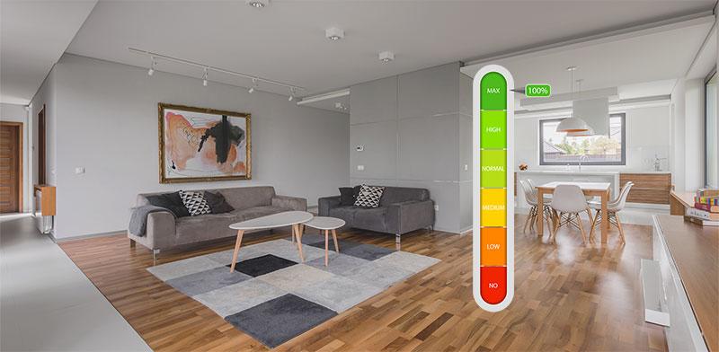 דירוג אנרגטי לדירה / צילום: shutterstock, שאטרסטוק
