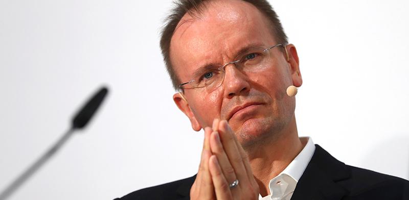 """מרקוס בראון, מנכ""""ל וויירקארד שנעצר / צילום: Matthias Schrader , Associated Press"""