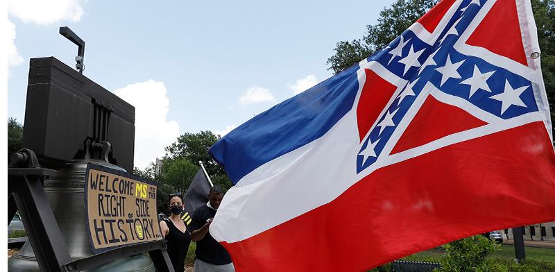 דגל מיסיסיפי / צילום: Ro-gelio V. Solis, Associated Press