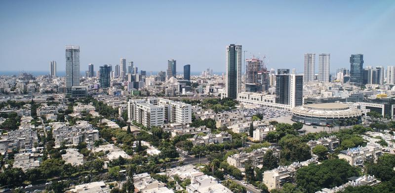 """פרויקט בסר בלה גווארדיה. התוכנית מיועדת לבנייה 228 יחידות דיור חדשות, עם שטחי מסחר וחניה תת־קרקעית / הדמיה: יח""""צ"""