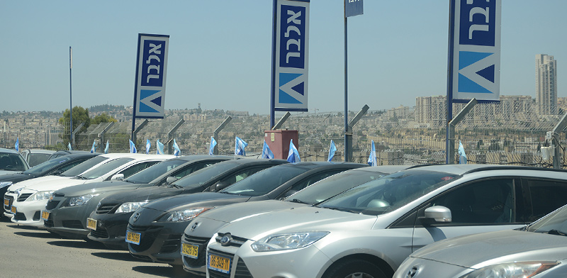 מגרש למכירת מכוניות משומשות. הפער בין המחירים במציאות לבין המחירונים - גדול / צילום: איל יצהר, גלובס