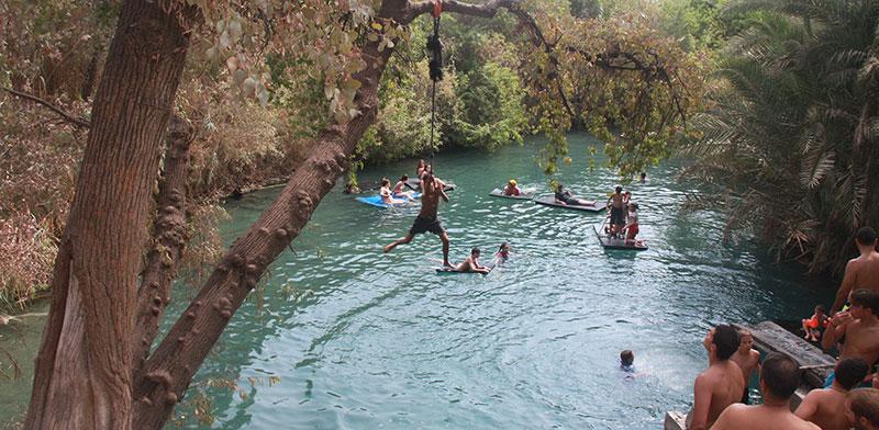 Kibbutz spring  / Photo: Orly Ginosar