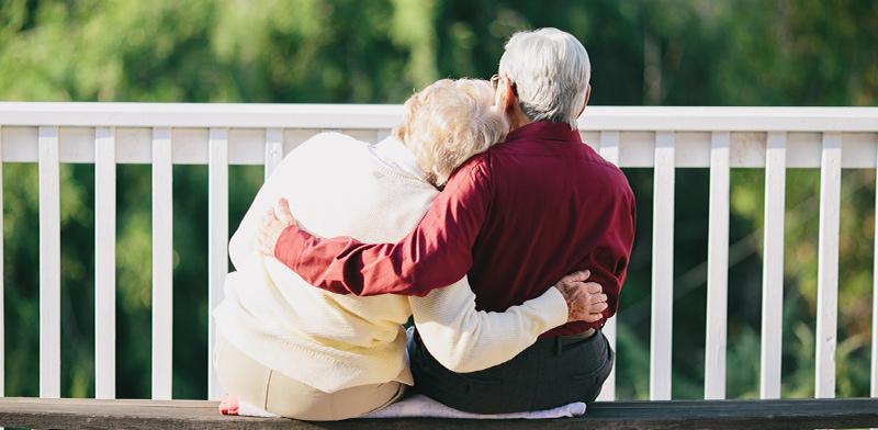 זוג קשישים / אילוסטרציה: shutterstock, שאטרסטוק
