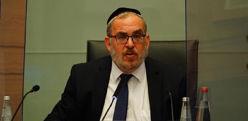 """יו""""ר ועדת החוקה, ח""""כ יעקב אשר / צילום: לומי ברנטל"""