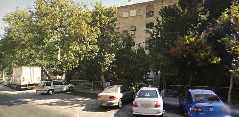 רחוב יד לבנים, חיפה / צילום: מורן לוי