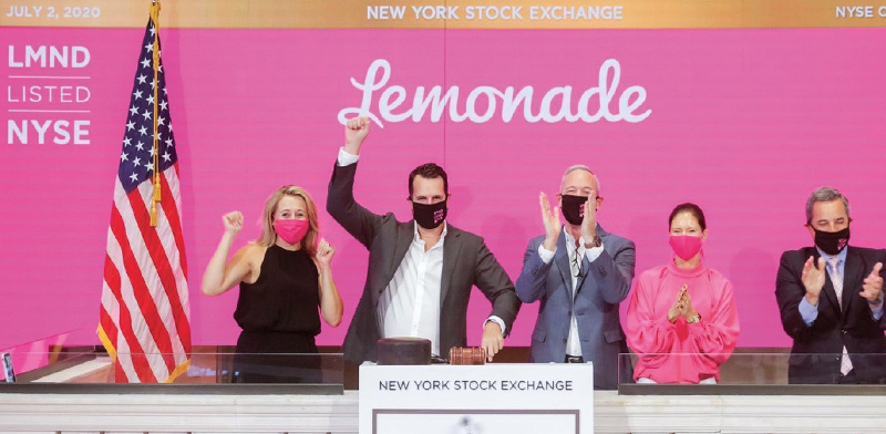 Lemonade  / Photo: NYSE