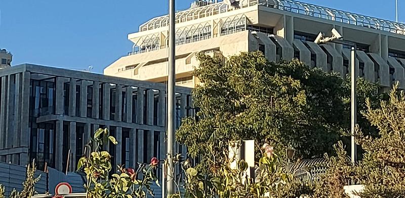 הבניין החדש של בנק ישראל / צילום: עמירם ברקת