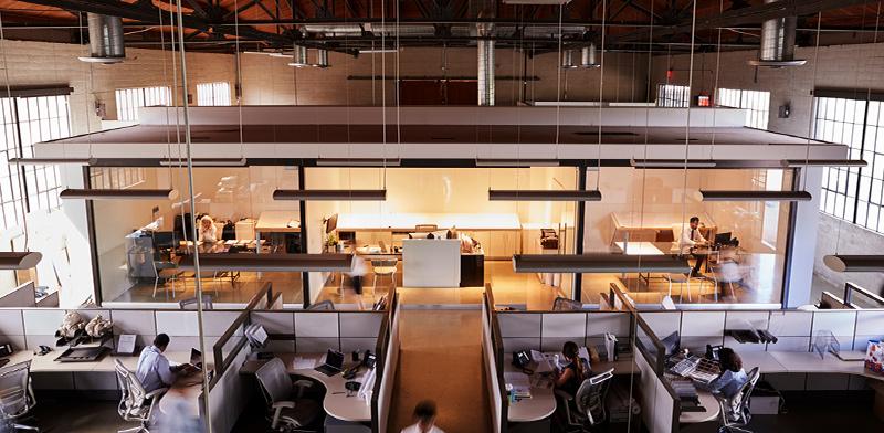 מערכת מיזוג במשרד / צילום: shutterstock, שאטרסטוק