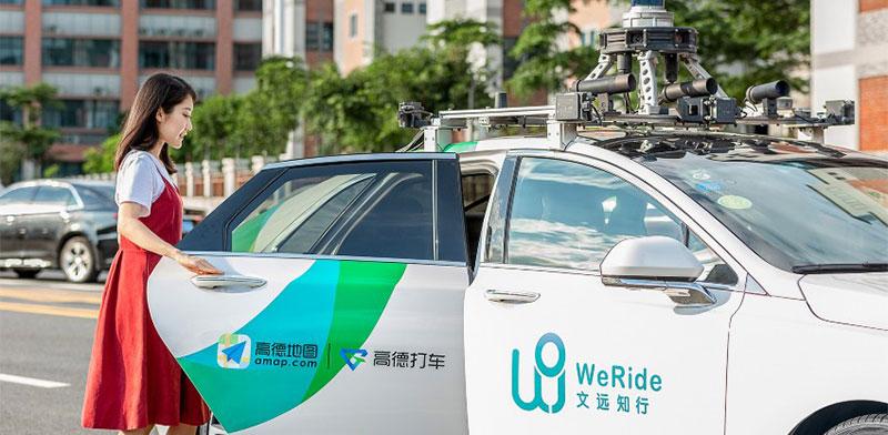 """מונית של WeRide. הסינים משקיעים בתחום הרכב האוטונומי  / צילום: יח""""צ"""