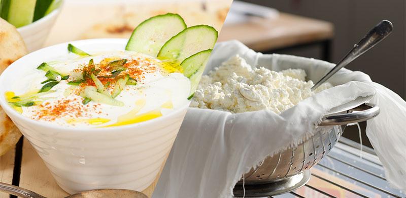 גבינת טבורוג רוסית או לאבנה טורקית  / צילום: shutterstock, שאטרסטוק