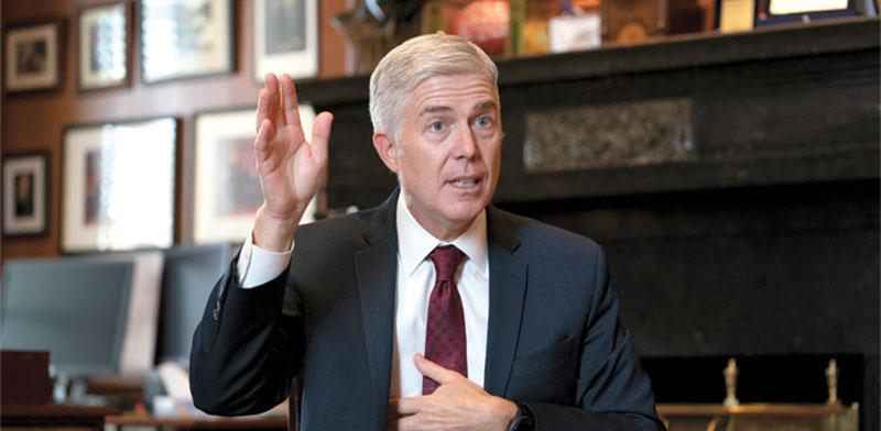 השופט ניל גורסיץ' / צילום: J. Scott Applewhite, Associated Press
