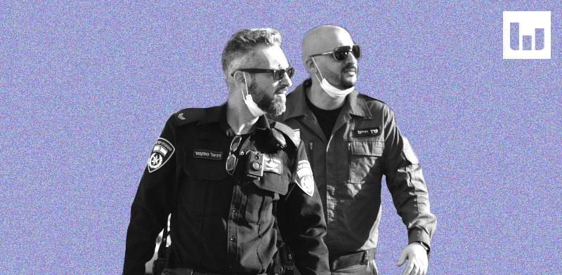 פקחים נפרשים לפעולה ברחבי הארץ תחת משטר הקורונה / צילום: משטרת ישראל