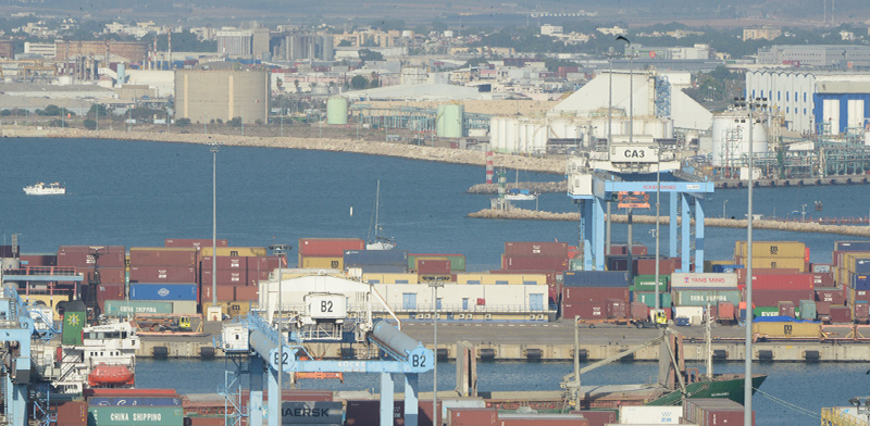 Haifa Port / Photo: Eyal Izhar, Globes