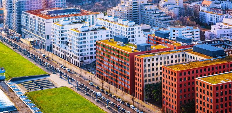 בנייני מגורים בברלין / צילום: shutterstock