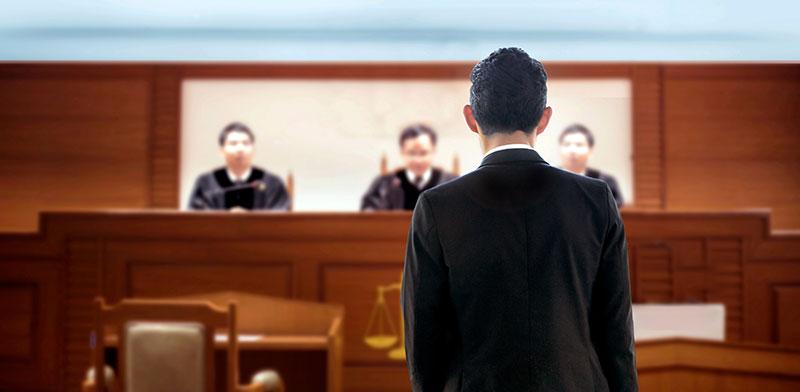 עורך דין בבית משפט / אילוסטרציה: shutterstock, שאטרסטוק