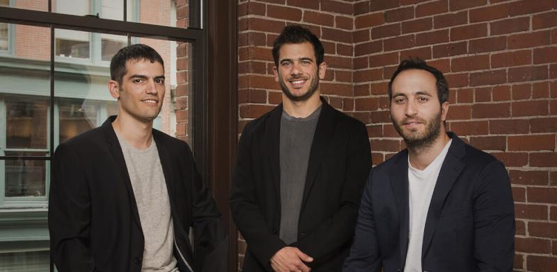 מייסדי קליימסל (ClimaCell), איתי זלוטניק, רעי גופר ושמעון אלקבץ  / צילום: ClimaCell