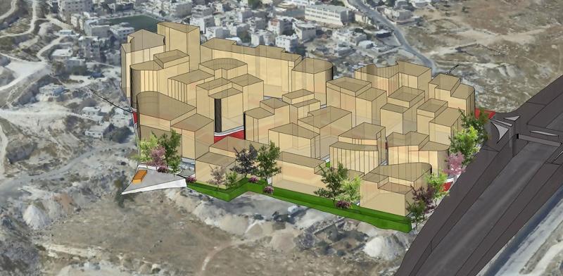 אזור תעסוקה חדש בעיסאוויה  / הדמיה: יערה רוזנר-מנור אדריכלים - בשיתוף אדריכל אסלאם דעי