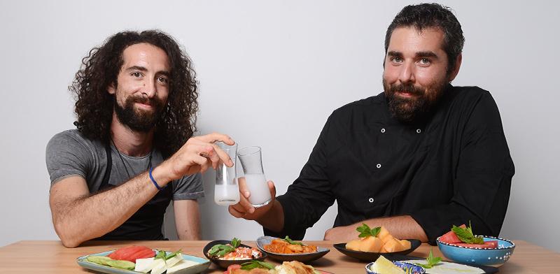 איתי סונמז ובנצי אמון, בעלי מסעדת לוקום / צילום: איל יצהר, גלובס
