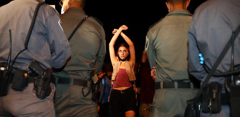 """הפגנה בירושלים, החודש. """"המטרה שלנו היא להקשות על נתניהו את החיים"""" / צילום: Oded Balilty, Associated Press"""