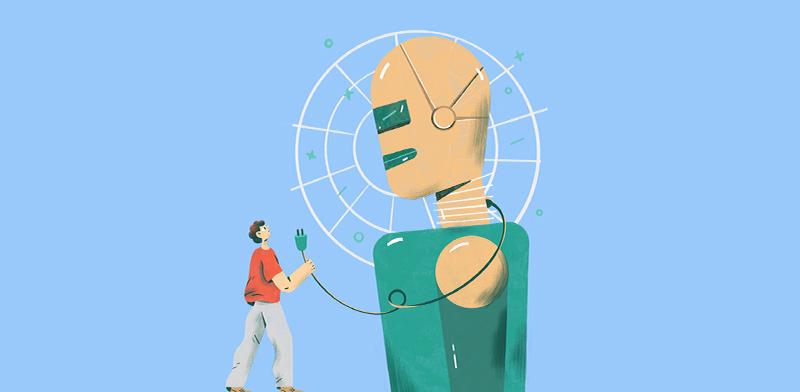 בזכות הרובוטים: מהנדסים צריכים ללמוד אמנות / איור: חן ליבמן