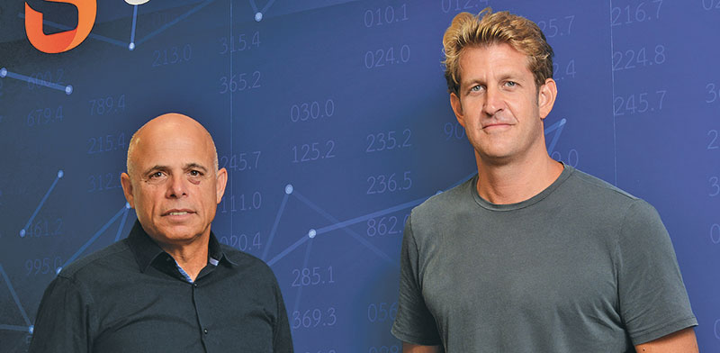 Gil Sheratzky and Ori Gilboa / Photo: Eyal Izhar, Globes
