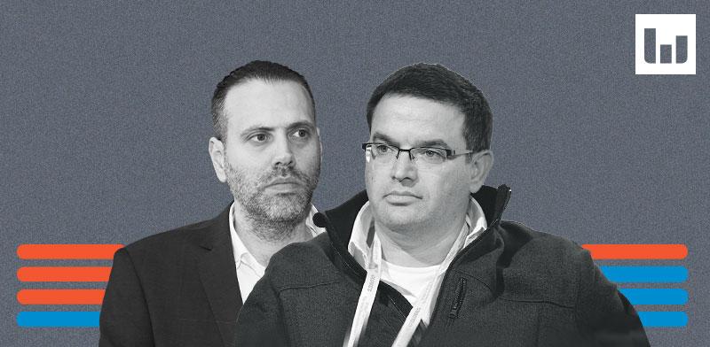 מיכאל ביטון, כחול לבן מול מיקי זוהר, הליכוד / צילום: תמר מצפי, לשכת עורכי הדין
