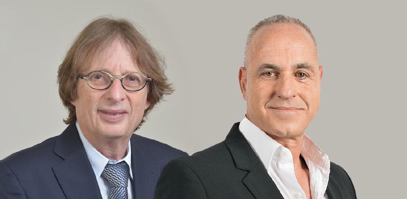 """מימין: ערן וולף ומוקי שנידמן  / צילום: תמר מצפי, יח""""צ"""