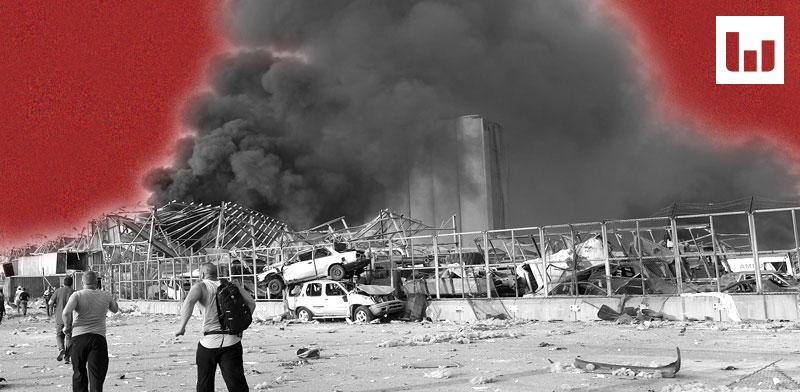 אלפים בעולם שיתפו ציטוט שבו נתניהו מודה באחריות לאסון בביירות - המשרוקית של גלובס בודקת / צילום: Hussein Malla, Associated Press
