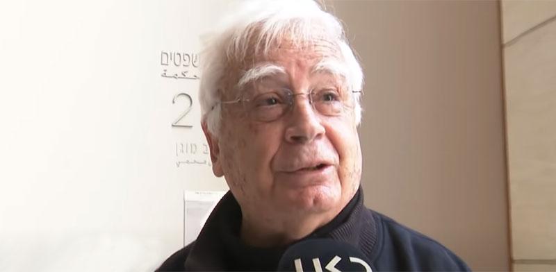 חיים צורי, ראש עיריית קרית מוצקין / צילום: מתוך ערוץ היוטיוב של כאן 11