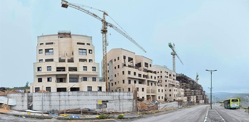 """פרויקט נדל""""ן למגורים / צילום: רפי קוץ, גלובס"""