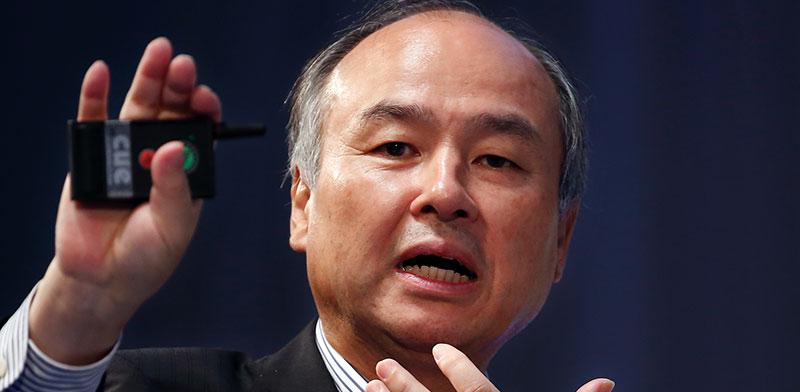 מאסיושי סאן, מייסד סופטבנק. לא משקיע באפל ובפייסבוק / צילום: Shizuo Kambayashi, Associated Press
