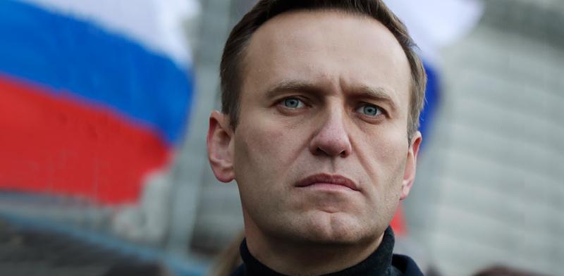 אלכסיי נבלני, ראש האופוזיציה ברוסיה / צילום: Pavel Golovkin, Associated Press