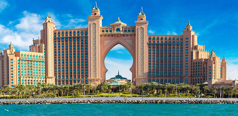 Panorama of Atlantis the Palm Hotel  / Photo: Shutterstock, Shutterstock.com